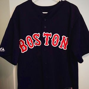Dustin Pedroia Boston Red Sox Alternate Jersey